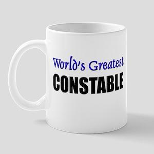 Worlds Greatest CONSTABLE Mug