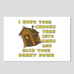 I Hope Your Chooks Turn I Postcards (Package of 8)