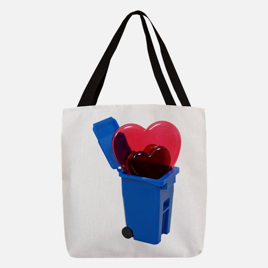 RecycleLove062709.png Polyester Tote Bag