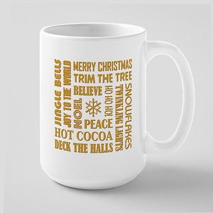CHRISTMAS WORDS Mugs