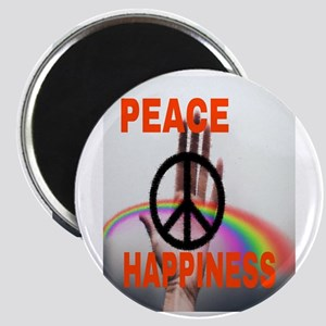 PEACE & HAPPINESS Magnets