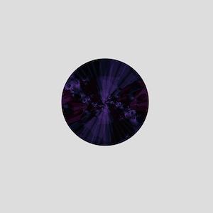 Shattered in Purple Mini Button