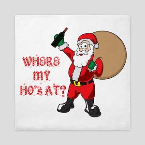 Santa's Ho''s Queen Duvet