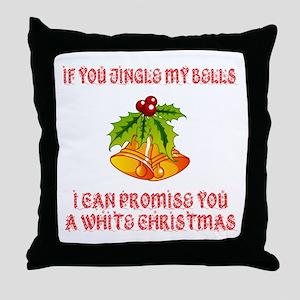 Jingle My Bells Throw Pillow