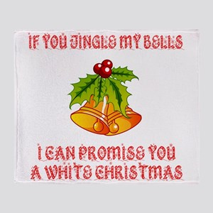 Jingle My Bells Throw Blanket