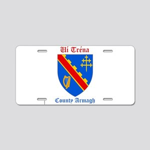 Ui Trena - County Armagh Aluminum License Plate