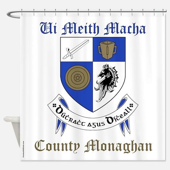 Ui Meith Macha - County Monaghan Shower Curtain