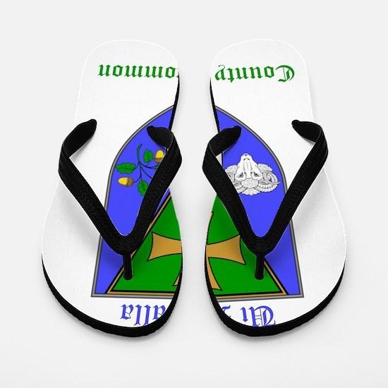 Ui Mealla - County Roscommon Flip Flops