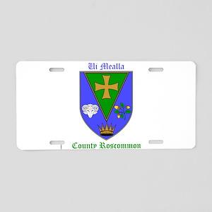 Ui Mealla - County Roscommon Aluminum License Plat