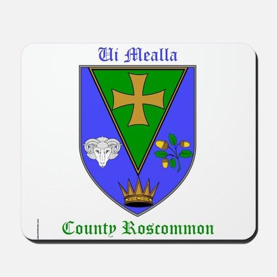 Ui Mealla - County Roscommon Mousepad