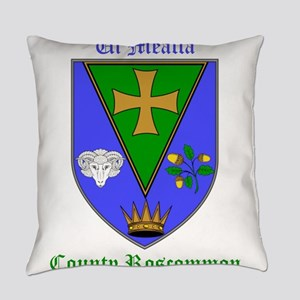 Ui Mealla - County Roscommon Everyday Pillow