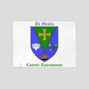 Ui Mealla - County Roscommon 5'x7'Area Rug