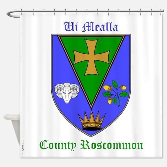 Ui Mealla - County Roscommon Shower Curtain