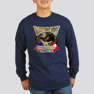 Death From Above Long Sleeve Dark T-Shirt