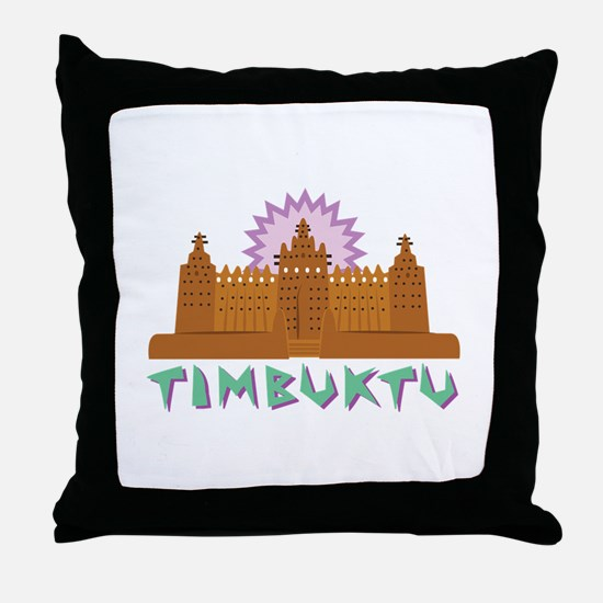 Timbuktu Throw Pillow