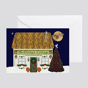 McGinty's Christmas Cottage Cards (Pk of 20)