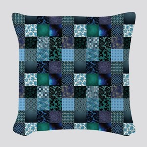 COOL WATER Woven Throw Pillow