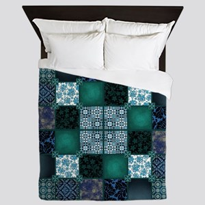COOL WATER Queen Duvet