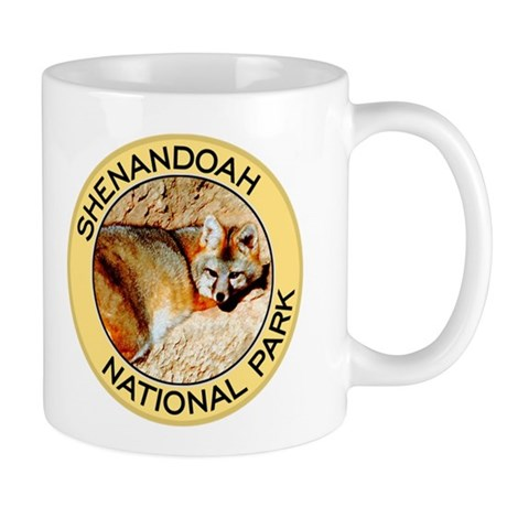 Shenandoah NP (Gray Fox) Mug