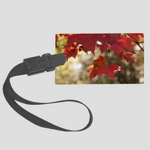 Fall Foliage Large Luggage Tag