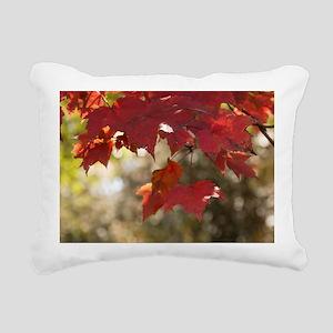 Fall Foliage Rectangular Canvas Pillow