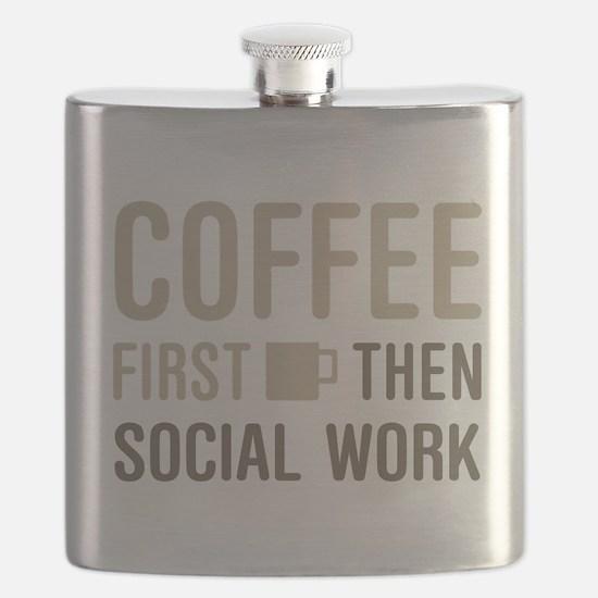 Coffee Then Social Work Flask