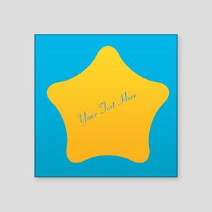 """Cool Bright Star Square Sticker 3"""" x 3"""""""