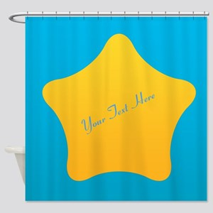 Cool Bright Star Shower Curtain