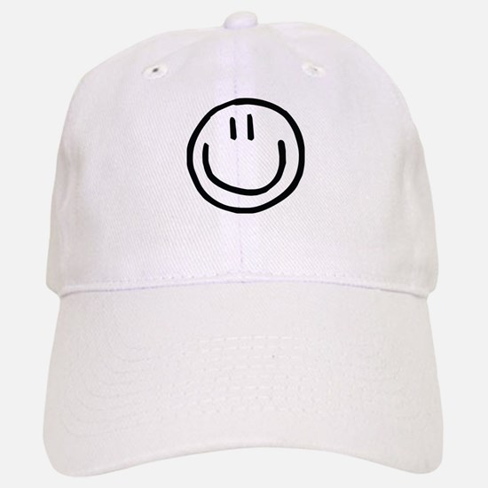 Smiley Face Baseball Baseball Cap