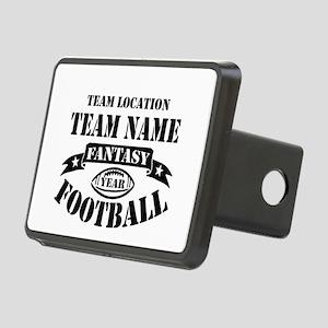 Your Team Fantasy Football Rectangular Hitch Cover
