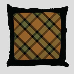 FALL PLAID Throw Pillow