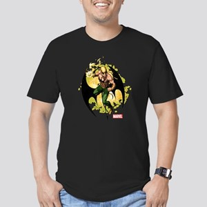 Iron Fist Standing Men's Fitted T-Shirt (dark)