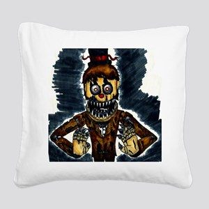 5 nights Square Canvas Pillow