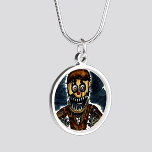 5 nights Silver Round Necklace