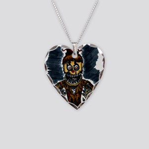 5 nights Necklace Heart Charm