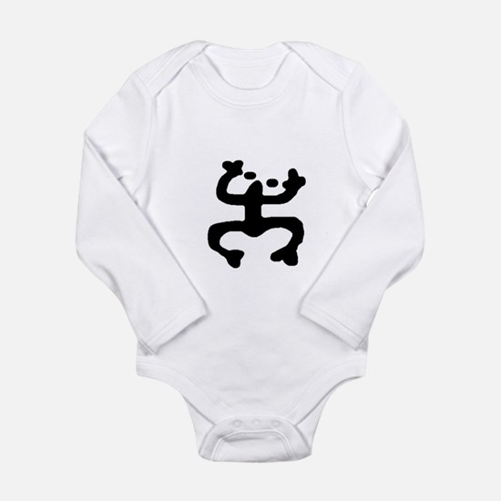 Funny Boricua flag Long Sleeve Infant Bodysuit