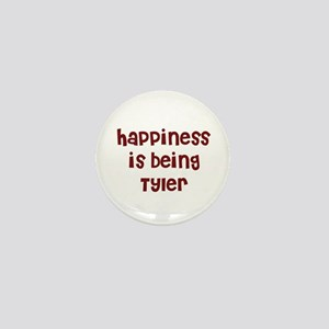 happiness is being Tyler Mini Button