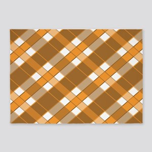 FALL PLAID 5'x7'Area Rug