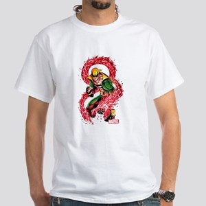 Iron Fist Red Dragon White T-Shirt