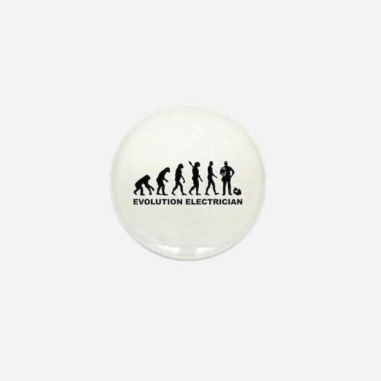 Evolution Electrician Mini Button