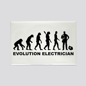 Evolution Electrician Rectangle Magnet