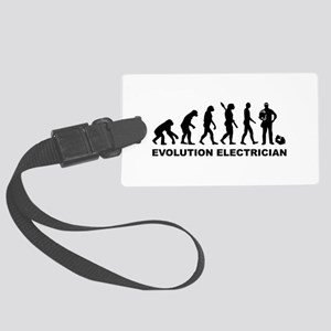 Evolution Electrician Large Luggage Tag