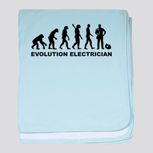 Evolution Electrician baby blanket
