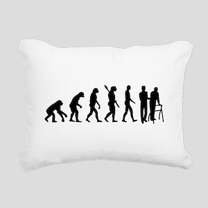Evolution caregiver Rectangular Canvas Pillow