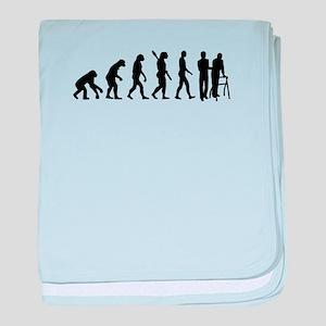 Evolution caregiver baby blanket