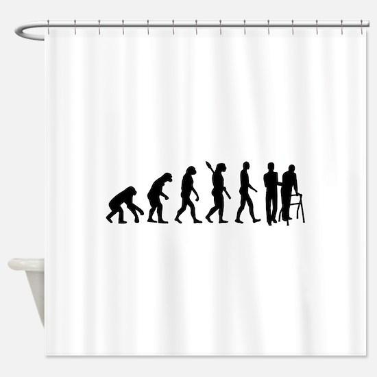 Evolution caregiver Shower Curtain