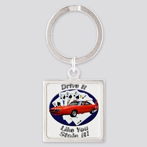 Plymouth Superbird Square Keychain