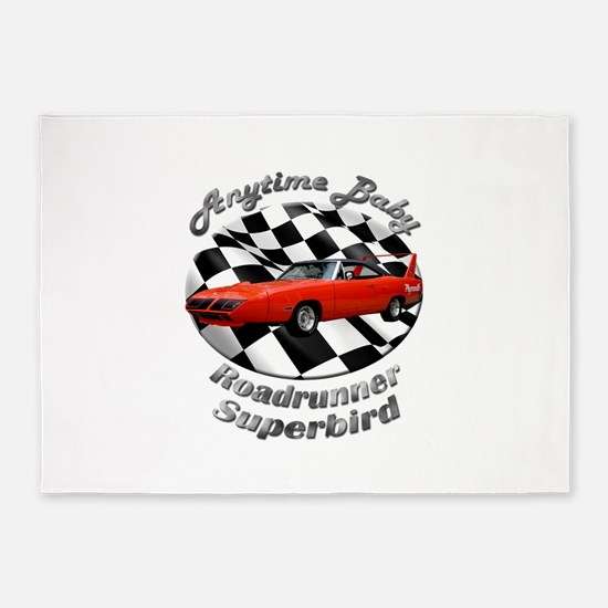 Plymouth Superbird 5`x7`Area Rug