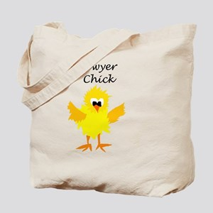 Funny Lawyer Chick Art Tote Bag