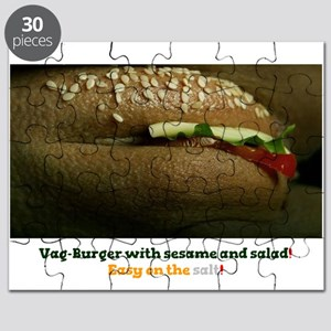 VAG BURGER WITH SESAME SEEDS! Puzzle